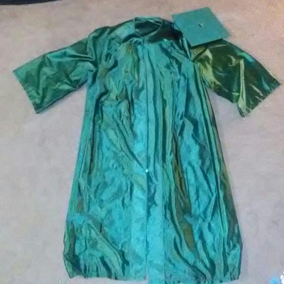 Herff Jones Costumes Green Cap Gown Poshmark